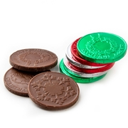 Holiday Milk Chocolate Coins