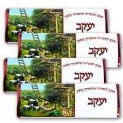 sukkot ushpizin Chocolate Bars - Yaakov