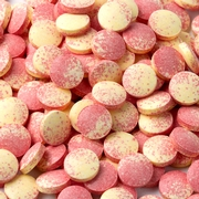 PinkPink & Yellow Sweet Tarts Candy Tablets - Strawberry Banana