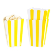 Yellow Popcorn Box - 5CT