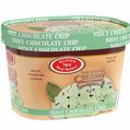 Vegan Mint Chocolate Chip Ice Cream