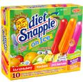 Diet Snapple-On-Ice Pops