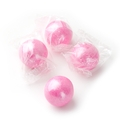 Wrapped Pink Gumballs - 3 LB Bag