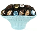 Baby Boy Chocolate Truffle Chocolate Basket