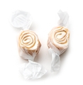 Brown & White Salt Water Taffy - Caramel Flavored