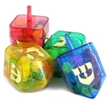 Candy Filled Dreidels - 6 Pack