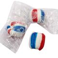 Patriotic Soft Candy Balls - Cherry