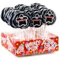 Congrats! Black & White Whirly Pops - 24CT Display Box