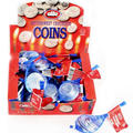 Elite Bittersweet Chocolate Coin Bags - 24CT Box