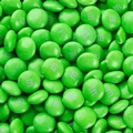 Green M&M's Chocolate Candy