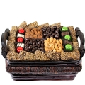 Holiday Gourmet Signature Wicker Basket - Med