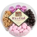 Baby Girl Candy Nuts & Chocolate Gift Tray