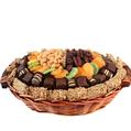 Oval Wicker Gift Basket