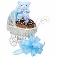 Baby Boy Chocolate Carriage