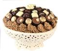 Chocolate Ceramic Gift Bowl