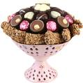 Pink Chocolate Centerpiece Gift
