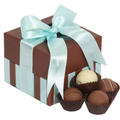 5-Pc Milk Chocolate Truffle Gift Box - Blue