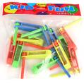 Mini Plastic Graggers - 12CT Bag