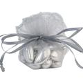 Gray Organza Bags - 12CT Bag