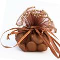 Brown Organza Bags - 12CT Bag