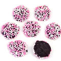 Baby Pink & White Chocolate Nonpareils