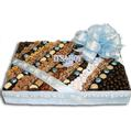 Baby Boy Chocolate & Nut Square Gift Basket - Medium 9