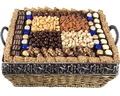 Hanukkah Gourmet Signature Wicker Basket - XL