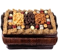 Gourmet Signature Kosher Wicker Gift Basket - Lg