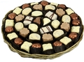 Chocolate Truffle Round Wicker Tray