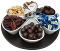 Chanukah Turnable 6-Section Tray (Israel Only)
