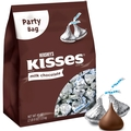 Silver Milk Chocolate Hershey's Kisses - 220-Pc. Bag