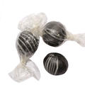 Black Hard Candy Balls - Licorice