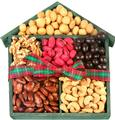 Holiday Nutty Wooden House