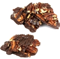 Passover Dark Chocolate Caramelized Pecan Clusters - 8 oz
