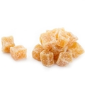 Powder Sugar Coated Ginger Chunks