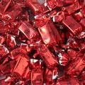 Red Foiled Zaza Chews - Strawberry