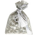 Silver Mesh Favor Bags - 12CT Bag