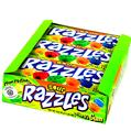 Razzles Sour Candy Gum - 24CT Box