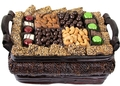 Thanksgiving Gourmet Sugnature Wicker Basket - Med