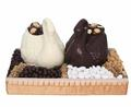 Double Chocolate Swan Gift Basket
