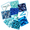 Blue Candy Buffet Planner Sample Kit