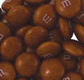 Brown M&M's Chocolate Candy