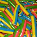 Multicolored Licorice Cream Bites