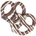 Stringed Chocolate Covered Pretzels - 10CT Box
