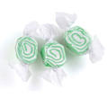 Green & White Salt Water Taffy - Key Lime