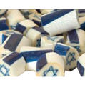 Handmade Star of David Blueberry Art Candy - 8 oz