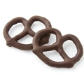 Dark Chocolate Covered Large Pretzels