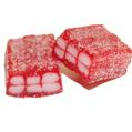 Red Sour Strawberry Gummy Cubes