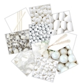 White Candy Buffet Planner Sample Kit