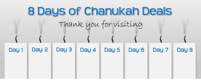 8 Days of Chanukah Deals
